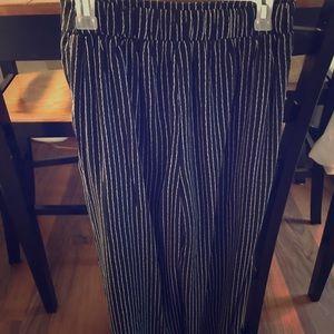 Wide leg Gaucho pants